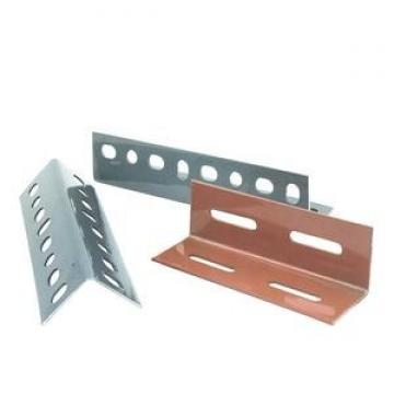 Punched Holes 35*35mm Equal Galvanized Slotted Angle Steel Bars For Storage Shelf