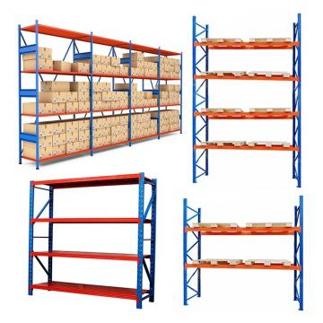 Boltless 5 shelf Medium Duty Rack Storage Industrial Warehouse Shelves Racking System