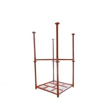 New product pallet plate stacking rack metal for warehouse storage