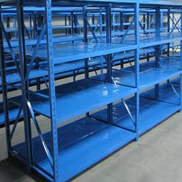 Low Price Metal Medium Decking Rack/Storage Industrial Shelving System Manufacturer