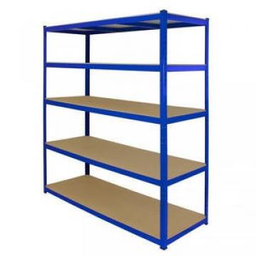 Metal Steel And Wood Double Side Free Standing Gondola Singal Supermarket Rack Shelf Supermarket Shelf Display Rack