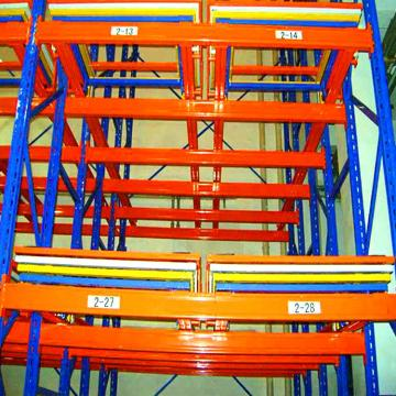 Industrial Adjustable Steel Shelving / Storage Rack Shelves / Warehouse Storage Rack System