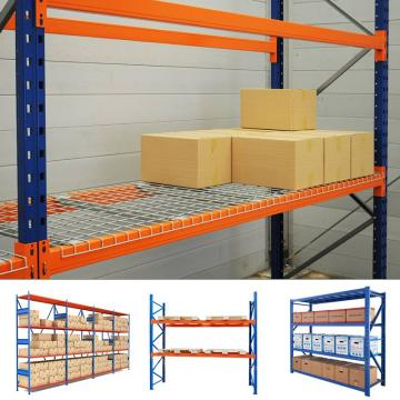Industrial Warehouse Storage Push Back Pallet Racking for supermarket