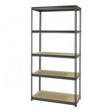 Q235B Steel Shelving Rack Supported Storage Mezzanine System