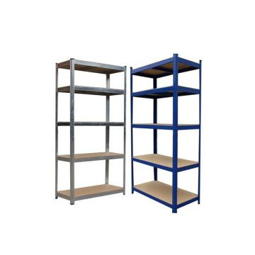 Customized steel storage racks assemble medium duty racking 8 shelf shelving unit