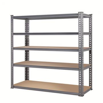 Modern Adjustable DIY Warehouse Racking System,Shelving Units With 5 Shelf Steel Warehouse Store Rack,we can customized
